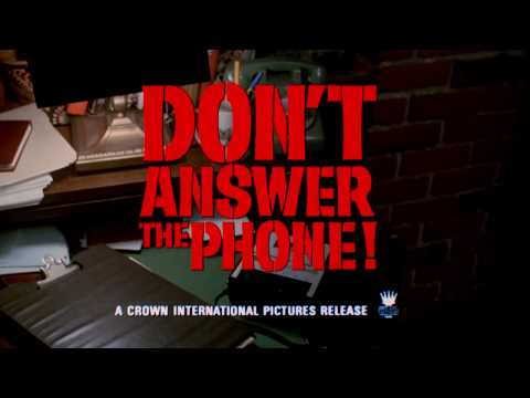 Don't Answer the Phone: 1979 Theatrical Trailer (Vinegar Syndrome)