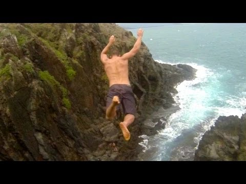 Cliff Jumping and Tombstoning