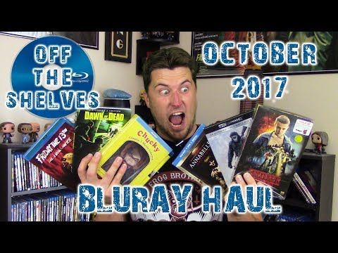 Off The Shelves | October 2017 Bluray Haul