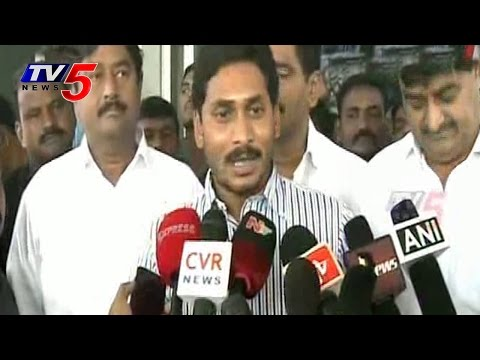 CM Chandrababu Graph Falls Down says YS Jagan : TV5 News