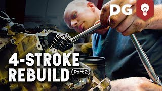 10. 4-STROKE REBUILD: Kawasaki Brute Force (Part 2)