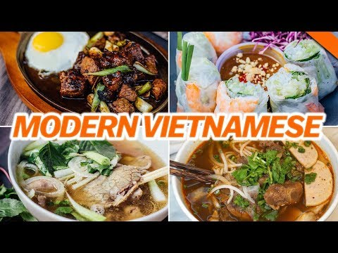 MODERN VIETNAMESE CUISINE IN NYC w/ WENDY'S LOOKBOOK - Fung Bros Food