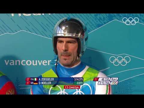 Felix Loch GER Wins Men's Luge Gold   Vancouver 2010 Winter Olympics