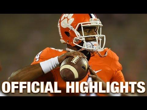 Deshaun Watson Official Highlights | Clemson Tigers Quarterback (видео)