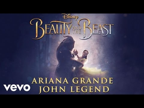 أريانا جراندي وجون ليجند يعيدان غناء Beauty and the Beast