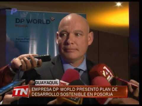 Empresa DP Word presentó plan de desarrollo sostenible en Posorja
