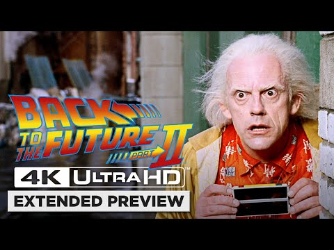 Back to the Future Part II | Opening Scene in 4K Ultra HD | The Future of 2015