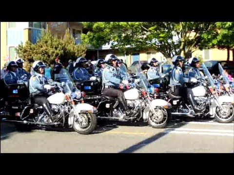 SPD Motorcycle Drill Team