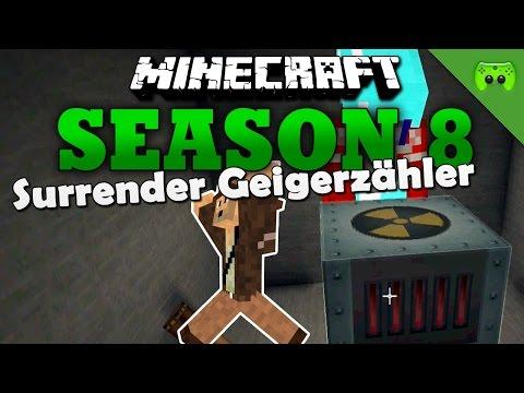 SURRENDER GEIGERZÄHLER «» Minecraft Season 8 # 247 | Full HD