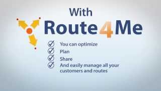 Route4Me Route Planner YouTube video