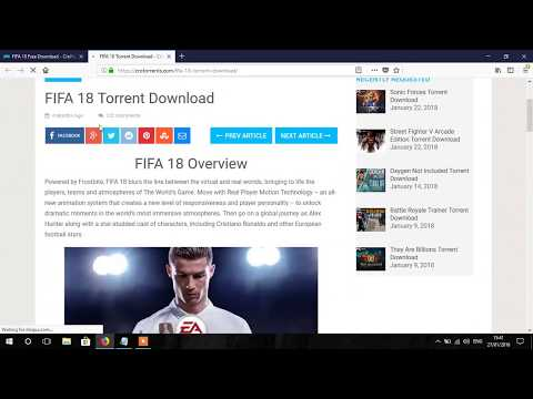 Download Fifa 18 For PC And Laptop For Free