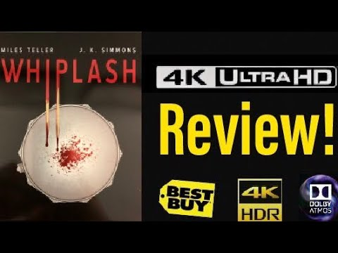 Whiplash (2014) 4K UHD Blu-ray Steelbook Review!