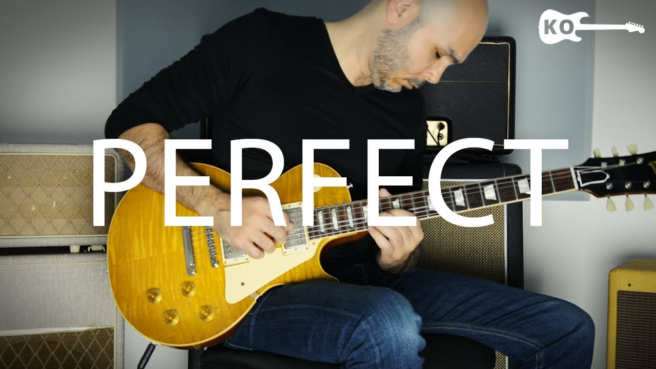 Ed Sheeran – Perfect – Electric Guitar Cover by Kfir Ochaion