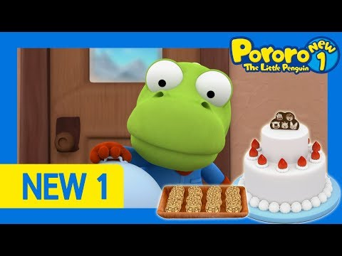Pororo New1 | Ep49 Cooking Is Fun! | Do You Know How To Make Cookies? | Pororo HD