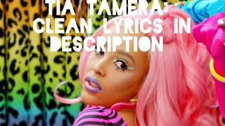 Tia Tamera - Doja Cat ft. Rico Nasty *Clean Lyrics*