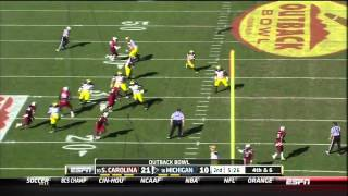 DeVonte Holloman vs Michigan (2012 Bowl)