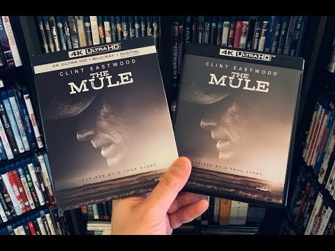 The Mule 4K BLU RAY REVIEW + Unboxing   Clint Eastwood