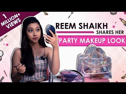 Reem Shaikh Shares Her Party Makeup Look