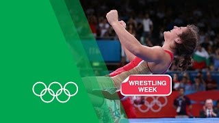 Natalia Vorobieva Relives Her Freestyle Wrestling Gold - London 2012 | Olympic Rewind