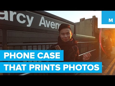iPhone Case Instantly Prints Photos