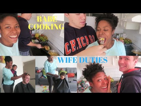 HUSBAND COOKING | WIFE DUTIES | I CANT DO EVERYTHING | INTERRACIAL FAMILY VLOG