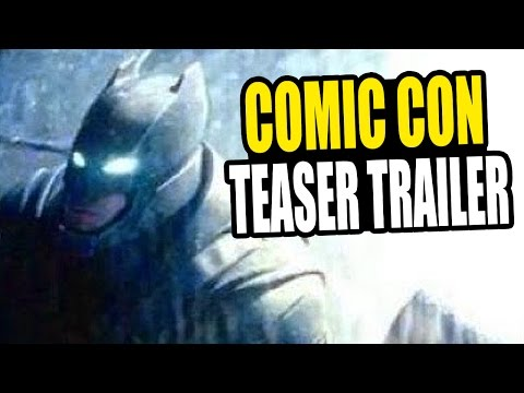 review trailer - Batman vs Superman: Dawn of Justice - Comic Con 2014 Movie Teaser Trailer footage, Batman Armor Suit vs The Man of Steel. ▷ Facebook - http://www.facebook.co...