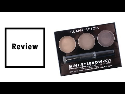 Review Mini kit Cejas Glam Factor - Blackat Makeup