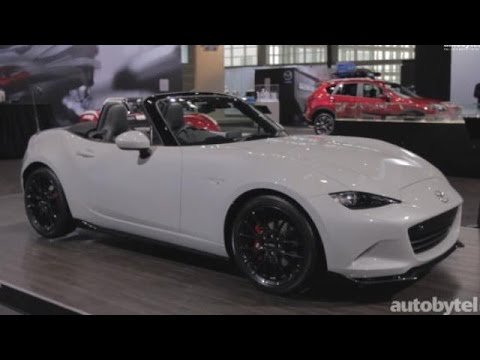 2015 Chicago Auto Show: 2016 Mazda MX-5 Miata Performance Accessories Package