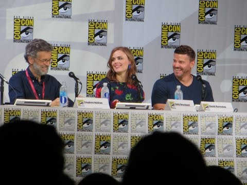Bones - Comic-Con 2014 - Full Panel Video
