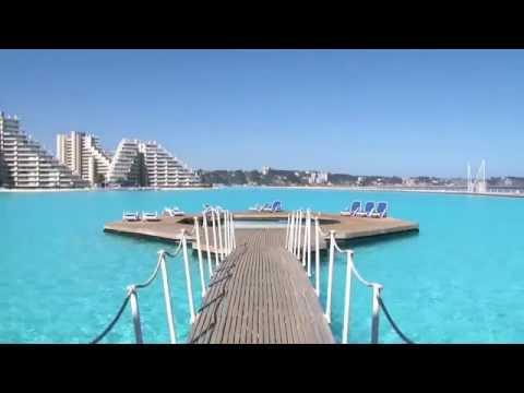 The World Largest San Alfonso Del Mar Resort Swimming Pool
