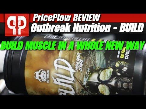 Outbreak Nutrition BUILD: Muscle Builder Ingredients