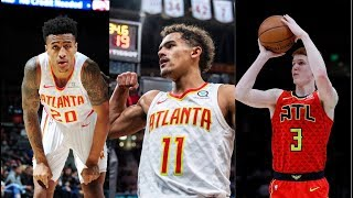 Hawks New Young Trio | Trae Young, John Collins, Kevin Huerter Highlights