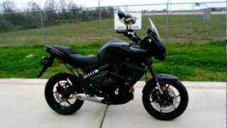 6. Overview and Review: 2012 Kawasaki Versys 650 Metallic Spark Black