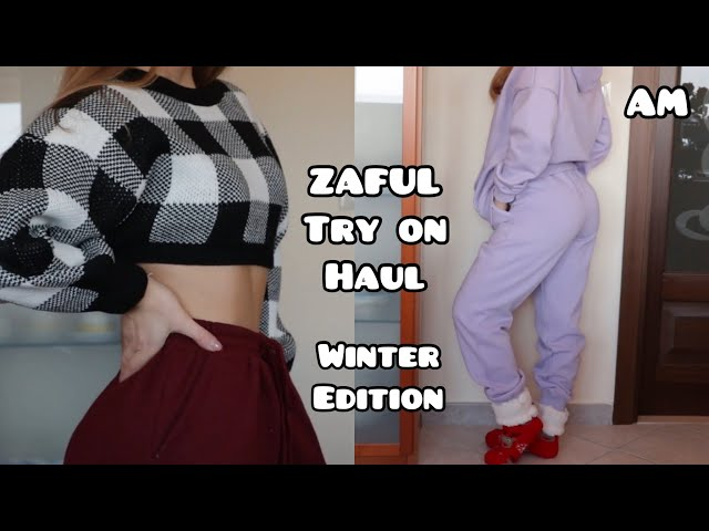 ZAFUL TRY ON HAUL | winter edition || AM