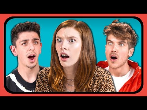 YouTubers React To 10 Viral Videos From 10 Years Ago (Try Not To Feel Old Challenge)
