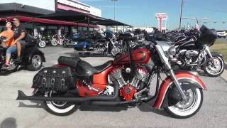 9. 322217 - 2015 Indian Chief Vintage - Used motorcycles for sale