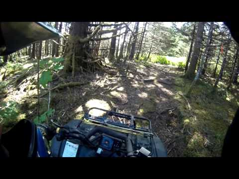 KTM Kodiak ATV Ride Chiniak Alaska, Sequel Point to Sacramento Creek