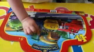 Chuggington Stop Motion Puzzle Timelapse