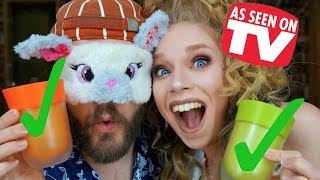 CAN HE TELL THE DIFFERENCE BLINDFOLDED? DOES THIS THING REALLY WORK? RE-TEST- THE RIGHT CUP! by GRAV3YARDGIRL