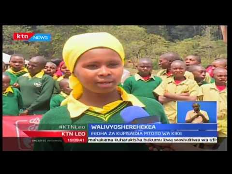 KTN Leo,Kundi la 'Menstrual Matters' waandaa matembezi kuchangisha fedha,  20/10/2016