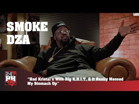 Smoke DZA - Had Kristal's With Big K.R.I.T & It Messed My Stomach Up (247HH Wild Tour Stories )