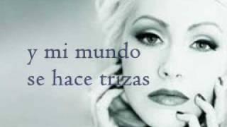 Christina Aguilera - Pero me acuerdo de ti (Letra)