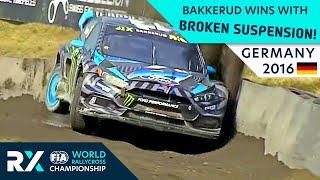 Bakkerud Wins with Broken Suspension! | Estering RX 2016