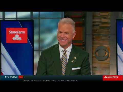 NFL on CBS StateFarm Post Game Show 2019 week 2