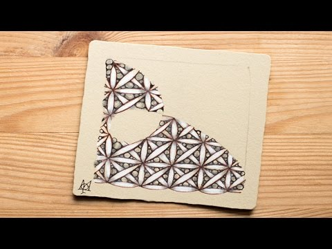 Draw the Zentangle® Tangle 'Fife' with Molly Hollibaugh, CZT