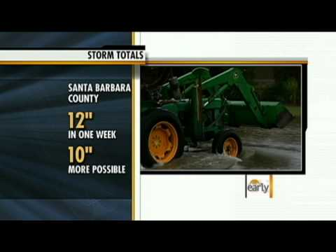 Storms Drench Calif. as Worst to Come