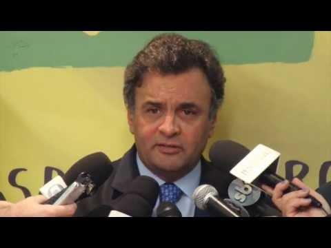 Aécio Neves apresenta propostas do PSDB para a reforma política