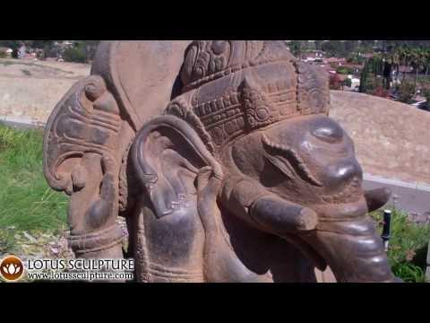 Stone Bali Ganesh Garden Statue 42