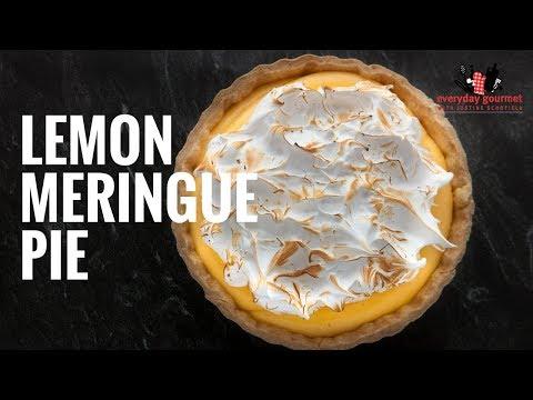 Sunny Queen Lemon Meringue Pie | Everyday Gourmet S6 EP39