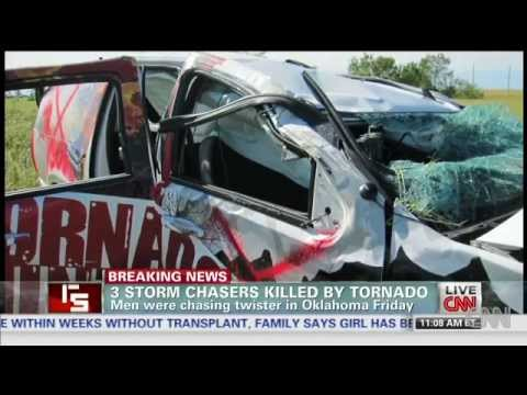 Storm Chasers Killed In Oklahoma Tornado | 'Unpredictable' Storm In Oklahoma Turned On Three Chasers